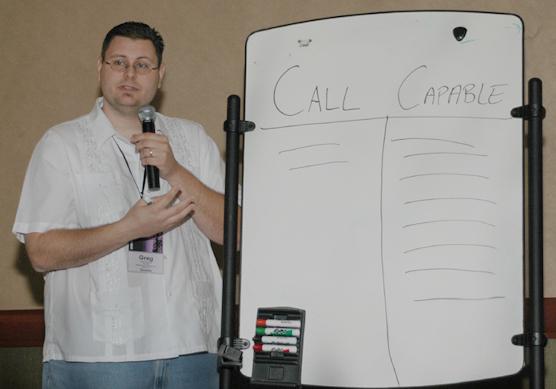 Greg teaching at MinistryCOM