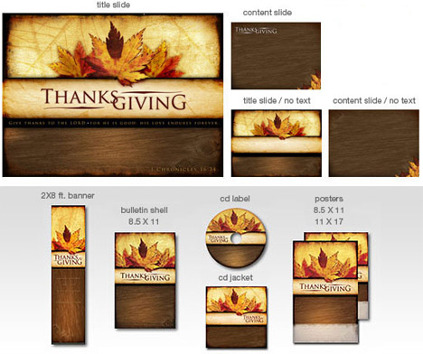 Pastor's Place Thanksgiving Graphics