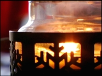 Snowflake candle free