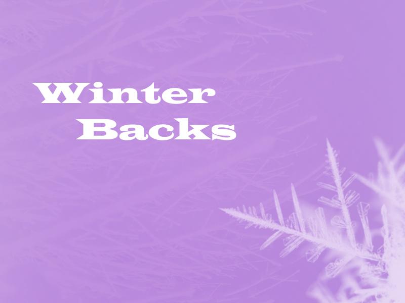 Winter Backs