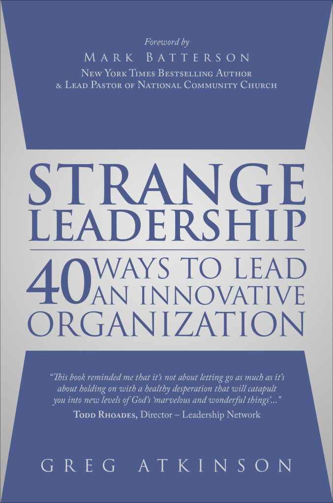 Strange Leadership book cover high res
