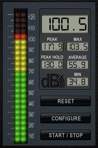 1493 1 db volume meter