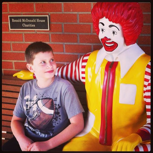 Tommy at Ronald McDonald House